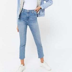 high rise girlfriend jeans urban outfitters ⭐️